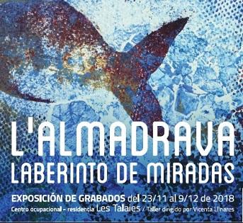 Benidorm inaugura una exposición de grabados realizados por los alumnos del centro ocupacional Les Talaies