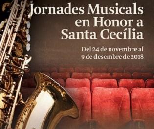 La AAM celebra la XXXVII Jornadas Musicales en honor a Santa Cecilia en Callosa d'en Sarrià