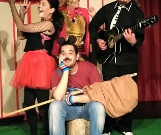 """Teatre familiar en l'Aula de Cultura d'Alacant amb """"El ratón Damián i el bosque del rock"""""""