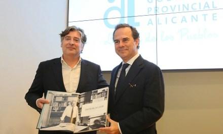 La Diputació d'Alacant presenta un llibre sobre la faceta humana, familiar i personal de l'arquitecte García Solera