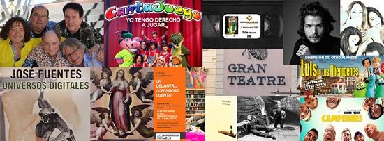 Fórmula V y Cantajuego en el Gran Teatro y muchas actividades más en Elche