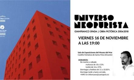 La Exposición UNIVERSO NEOPURISTA de Gianfranco Spada llega al Museo del Mar y la Pesca el 16 de Noviembre