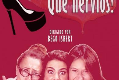 """El sábado llega a Xàbia la obra teatral """"La vida no…qué nervios"""": de mano de la concejalía de Igualdad"""