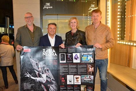 Miquel Nadal i Jovi Lozano, guanyen els premis de narrativa de la III edició de Xàbia Negra