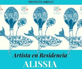 """Nou projecte """"Artista en Residència"""" a Alcoi amb la il·lustradora Alissia"""