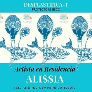 """Nuevo proyecto """"Artista en Residencia"""" en Alcoy con la ilustradora Alissia"""