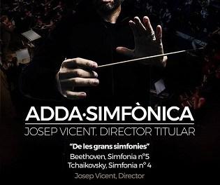 Josep Vicent presenta hoy miércoles el concierto ADDA Simfònica que llega el 16 de diciembre en Palau Altea