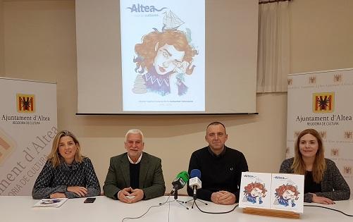Altea presenta candidatura a Capital Cultural Valenciana 2019