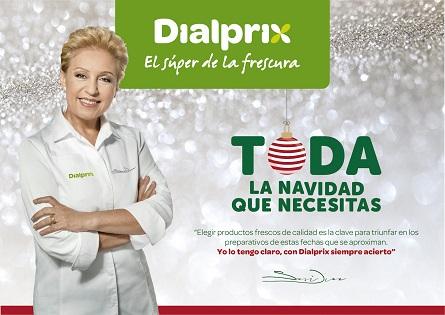 Susi Díaz es converteix en ambaixadora de supermercats Dialprix aquest nadal