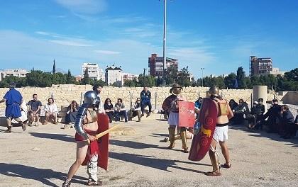 Los romanos toman Lucentum
