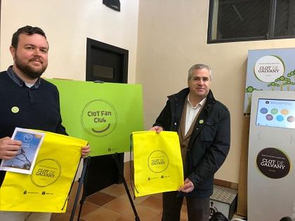 El Ayuntamiento y Aigües d'Elx crean el Clot Fan Club para fomentar la educación ambiental