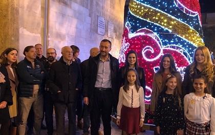 L'encès de l'enllumenat dóna inici a les festes nadalenques a Elx