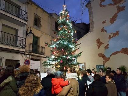 Finestrat dará la bienvenida a la Navidad este viernes con el encendido del Árbol y la inauguración del Belén