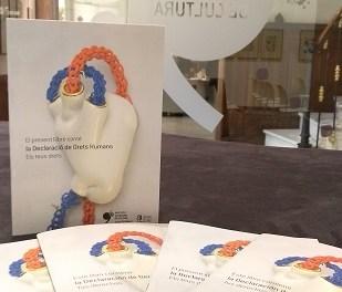 El Instituto Gil-Albert convoca al mundo de la cultura alicantina para conmemorar el 70 aniversario de los Derechos Humanos