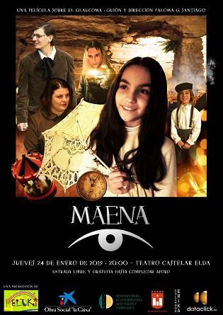 El Teatro Castelar de Elda acoge la proyección de una película destinada a concienciar sobre la enfermedad del glaucoma