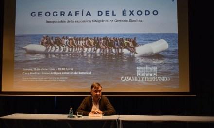 """Casa Mediterráneo acoge la exposición """"Geografía del Éxodo"""" del fotorreportero Gervasio Sánchez"""