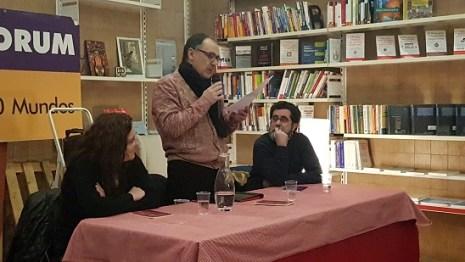 Esther Abellán, Javier Cebrián y Mariano Sánchez. Foto: Juanjo Cervetto