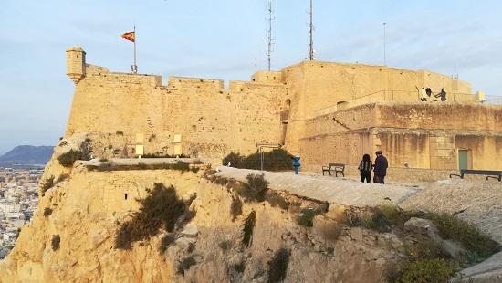 L'Ajuntament d'Alacant finalitza importants treballs de remodelació i adequació al Castell de Santa Bàrbara