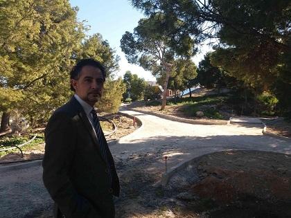 L'Ajuntament d'Alacant recupera el Mont Tossal com un dels grans pulmons verds de la ciutat amb el desenvolupament d'una xarxa de senders
