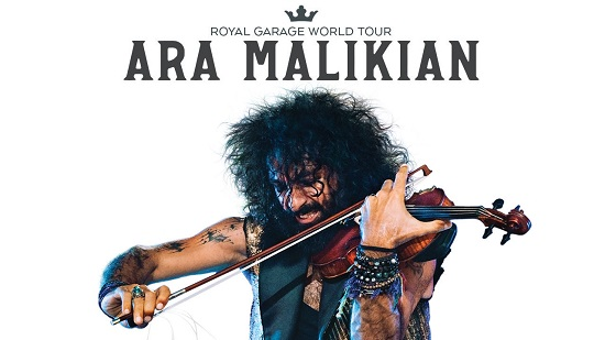 Ara Malikian presenta en el Auditori Teulada Moraira su nuevo espectáculo Royal Garage World Tour