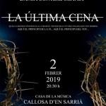 """El Aula de Danza de la Universidad de Alicante presenta """"La última cena"""" en Callosa d'en Sarrià"""
