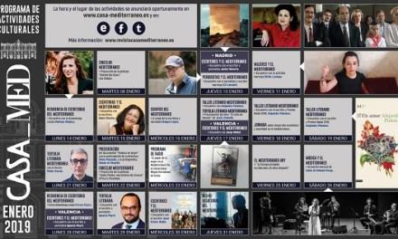 Casa Mediterráneo inicia sus actividades este mes de enero y fundará la Red de Escritoras del Mediterráneo