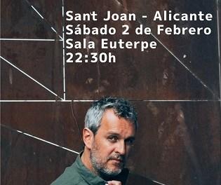 Rafa Pons presenta el seu nou disc «La guerra del sexo» a la Sala Euterpe de Sant Joan