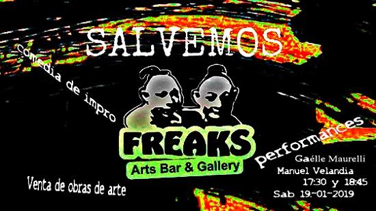 Performers y actores aportan para salvar el Freaks Arts Bar en Alicante