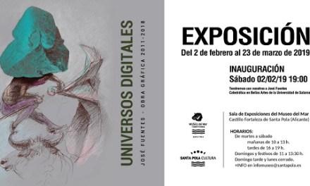 """""""Universos digitales"""" arriba al Museu del Mar, una nova exposició on s'entremescla el digital amb l'analògic"""