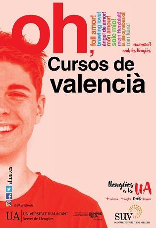 La Universidad de Alicante oferta nuevos cursos de valenciano en sus sedes de Elda, Torrevieja y Villena