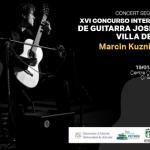 Marcin Kuzniar ofrece dos conciertos de guitarra en las Sedes Universitarias de Petrer y Benissa de la Universidad de Alicante
