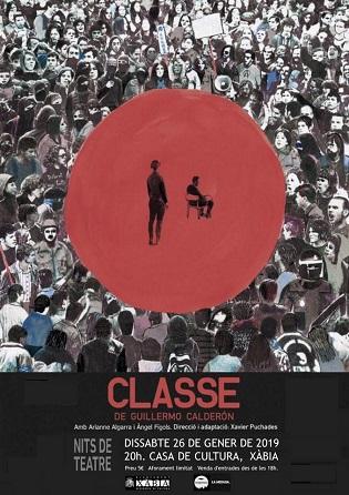 """""""Classe"""" obri aquest dissabte el cicle Nits de Teatre a Xàbia"""