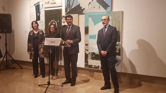 """La Sala Lonja del Pescado, el MACA y la Fundación Coca-Cola inauguraron la exposición de arte contemporáneo """"Construyendo Historias"""""""