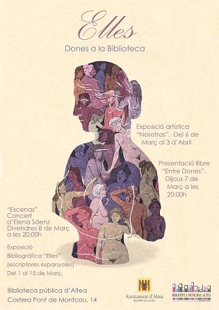 """Cultura d'Altea presenta """"Elles"""" amb motiu del Dia de la Dona"""