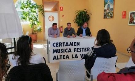 Recta final per al Certamen de Música Festera d'Altea la Vella