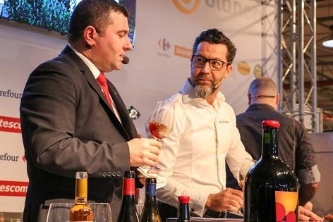 Quique Dacosta realiza su primera presentación con maridaje de Vinos Alicante DOP