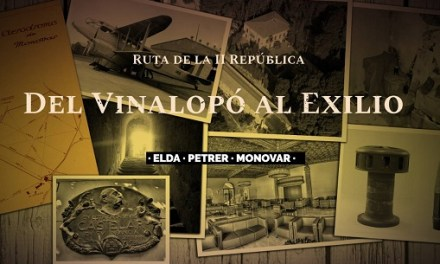 La ruta cultural 'Del Vinalopó a l'exili' torna el pròxim 3 de març amb novetats