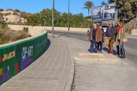 El Comando Margarita crea un Mural en el Carrer Mongomit dins del projecte MaALeEC de El Campello