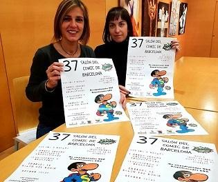 La regidoria de joventut de Finestrat i de La Nucia organitzen conjuntament una visita al Saló del Còmic de Barcelona