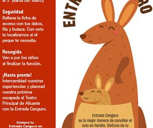 """El Principal apuesta por el ocio en familia con su proyecto """"ENTRADA CANGURO"""""""