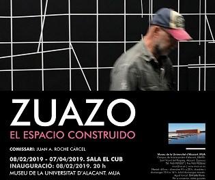 """Jesús Zuazo exposa """"L'espai construït"""" al Museu de la Universitat d'Alacant"""