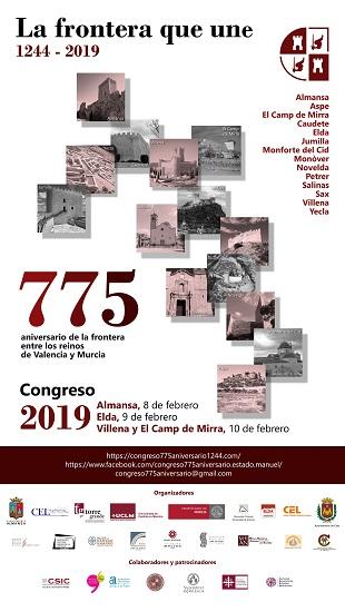 Casi 200 personas inscritas en el Congreso del 775 aniversario del Tratado de Almizra