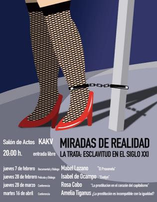 """""""Miradas de Realidad"""", un ciclo multidisciplinar en Villena que trae a la luz la esclavitud de la prostitución"""