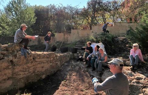 AMUX recupera el yacimiento andalusí de la Torre de les Capçades de Xàbia