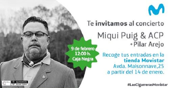 MOVISTAR+ trae a MIQUI PUIG con Pilar Arejo a Las Cigarreras