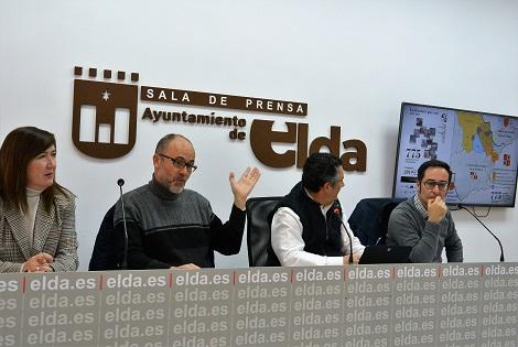 """Elda acogerá mañana sábado, 9 de febrero, el congreso de temática histórica """"La Frontera que une"""""""