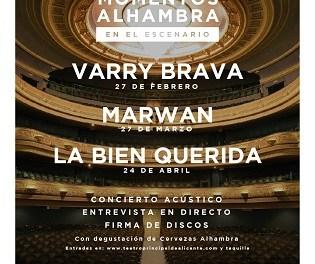 """""""Momentos Alhambra en el Escenario"""" arranca en el Teatro Principal de Alicante con la actuación de Varry Brava"""