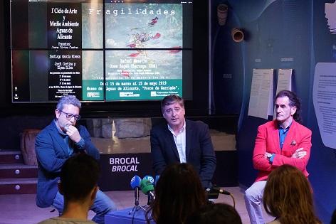 """El Museo de Aguas de Alicante inauguró el I Ciclo de Arte y Medioambiente con las Exposición """"Fragilidades"""""""