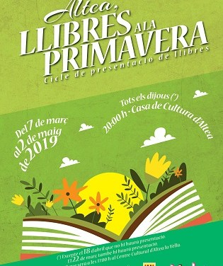 """""""Entre dones"""" da inicio a la nueva edición de 'Llibres a la Primavera'"""