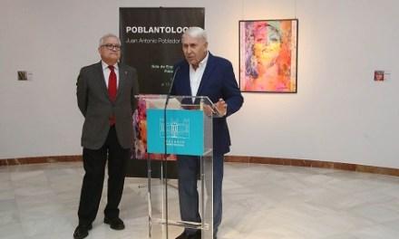 Una trentena d'obres repassa la trajectòria de l'artista Juan Antonio Poblador en la nova mostra del Palau Provincial